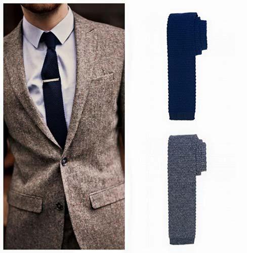 Krawaty mniej formalne